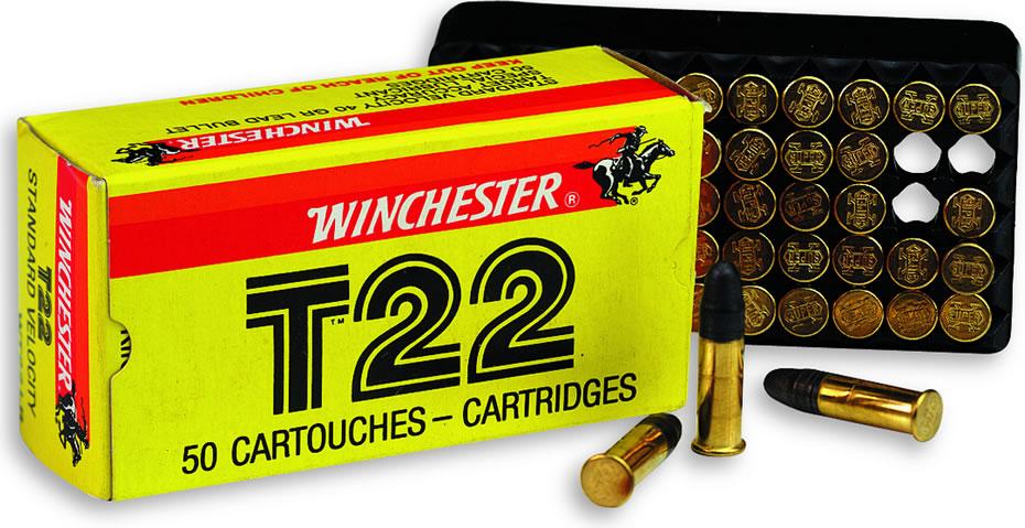 Winchester Munizione T22 Cal. 22 l.r.