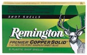 Remington Cartuccia Premier Copper Solid Sabot Slugs Palla