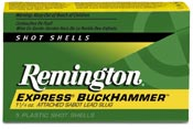 Remington Cartuccia Express Buckhammer Palla