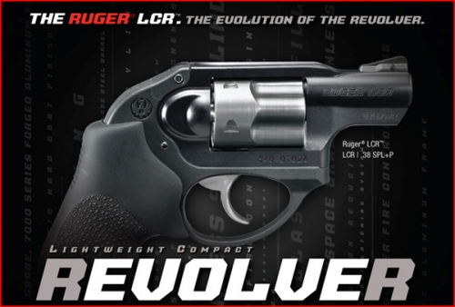 Ruger Revolver LCR Cal.38 Special